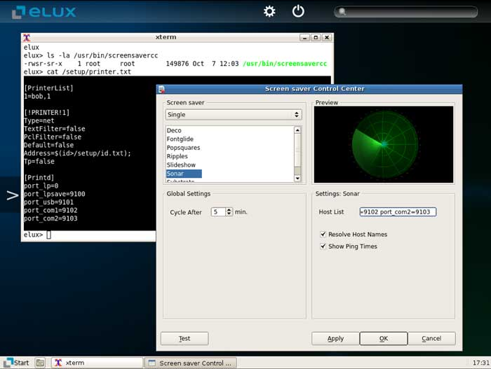 open source thin client os