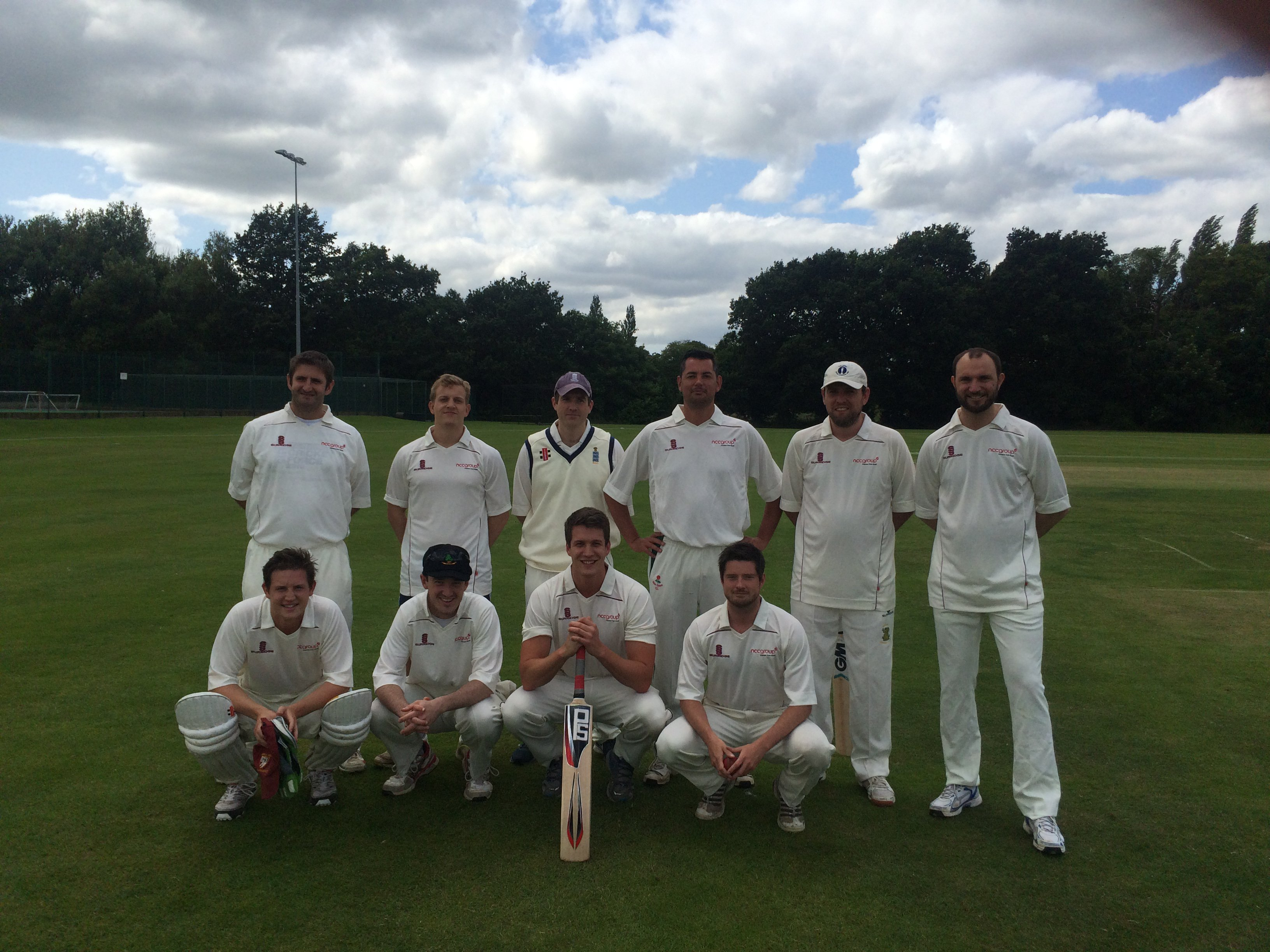 NCC Group brings home the Plate at cricket final