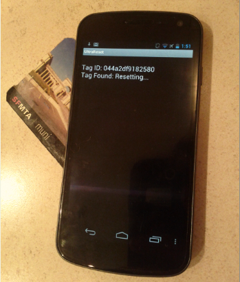 UltraReset – Bypassing NFC access control with your smartphone